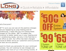 Email – Long Heating