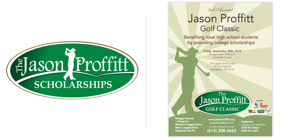 Logo Design for Jason Proffitt.