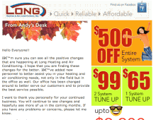 Html email – Fall sale by LHAA