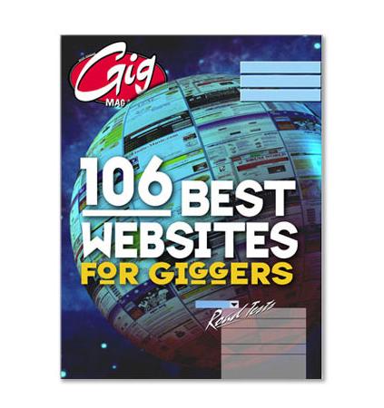 Magazine Cover Design for Gig
