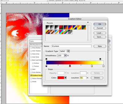 gradient tool in photoshop